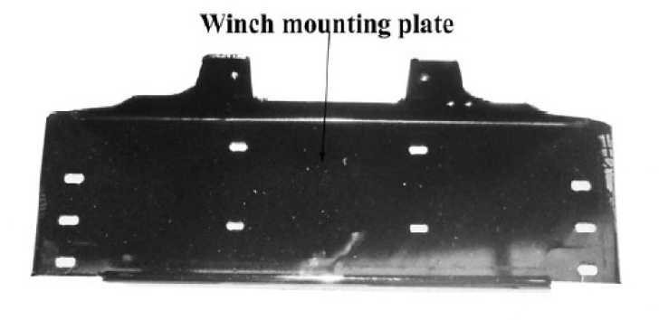 9,000lb Winch Mounting Kit (code: AWMT67SY)