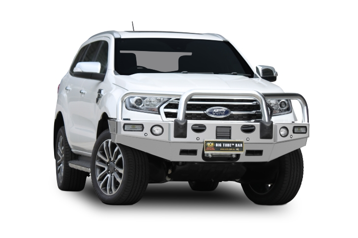 Big Tube Bar® Winch Compatible with Bumper Lights (code: EAF173SY)